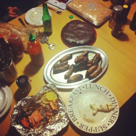 Mmmmm @fatbeehive Christmas BBQ....