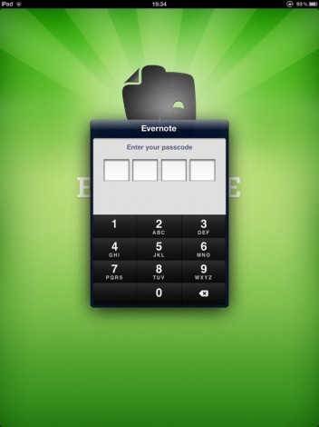 @evernote is it me or has the numpad...