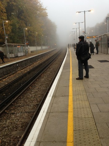 It's a foggy day in London Town.