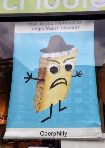 How do you approach an angry welsh...