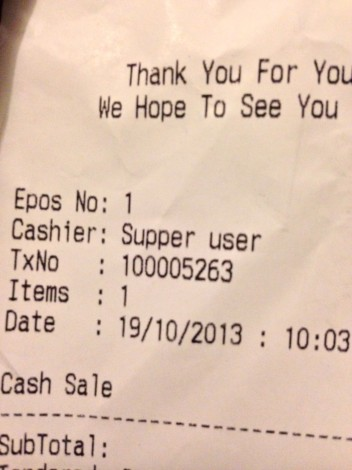 Supper user, it's the new super user.