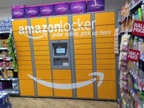 Amazon lockers are amazing.