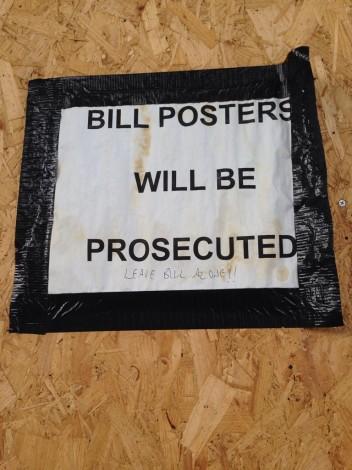Leave Bill alone! #BillPosters...